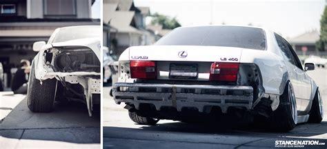 lexus ls400 slammed stancenation com elvis skender 39 s lexus ls400