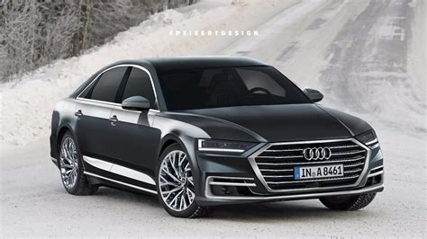 Audi A8 by 2018 Audi A8 Envisioned Forcegt