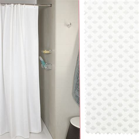 tenda doccia tenda doccia per vasca nido d ape bianco misura 240x200