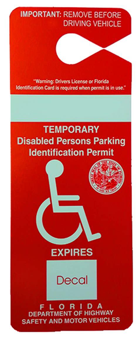 handicap parking permit form florida park imghdco