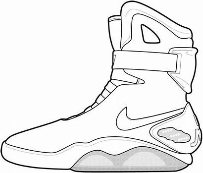 Coloring Nike Pages Shoes Popular