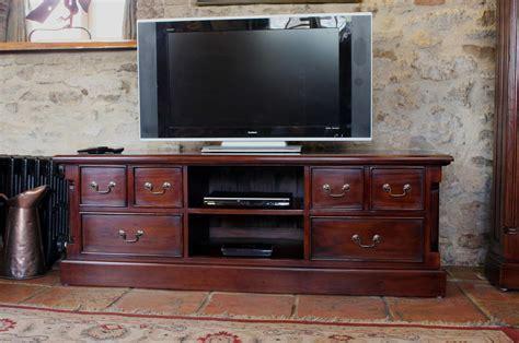 La Roque Mahogany Widescreen Television Cabinet (IMR09A)