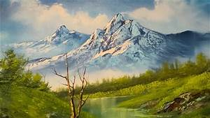 Painting A Landscape - Oil Paint