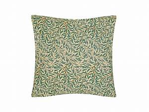 William Morris Willow Bough Green Cushions
