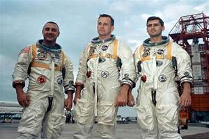 NASA Displays Apollo 1 Hatch After 50 Years of Fatal Fire ...