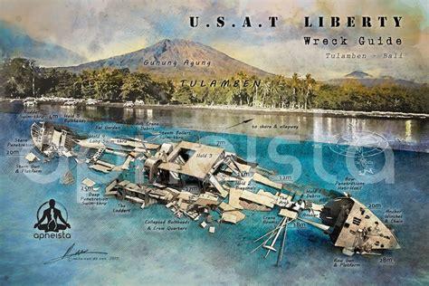 liberty wreck usat tulamben bali apneista freediving community bali