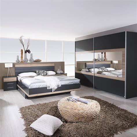 schlafzimmer set schlafzimmer set tarragona bett nakos kleiderschrank grau