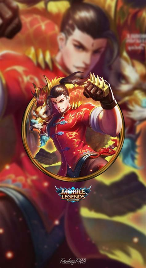 chou mobile legend masmochen wallpaper mobile legends chou boy by