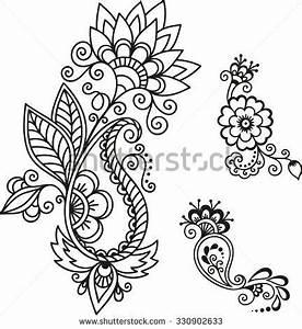 Henna Tattoo Schablonen : henna tattoo flower template mehndi henna tattoos tattoo vorlagen tattoo ideen und feen tattoo ~ Frokenaadalensverden.com Haus und Dekorationen