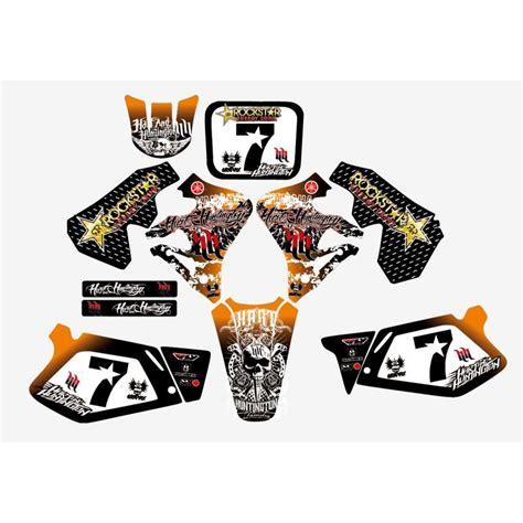 kit deco motocross sp 233 cial pour un client