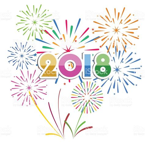 Clipart Fireworks New Year Clipart Colorful Firework Pencil And In Color