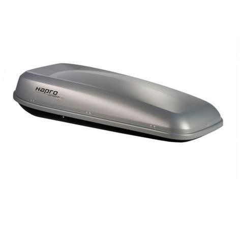 coffre de toit 500l gris argent 233 hapro probox 560
