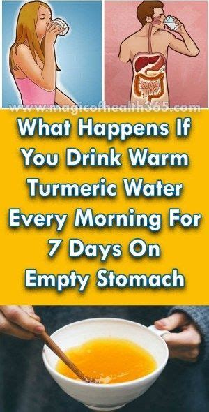 WHAT HAPPENS IF YOU DRINK WARM TURMERIC WATER EVERY ...