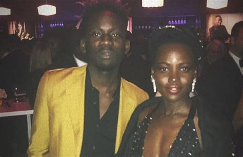 mr eazi bikini mr eazi parties with lupita nyong o drake diddy at vanity