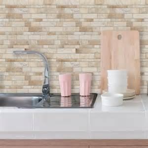 self stick kitchen backsplash tiles neutral sticktiles peel stick backsplashes roommates