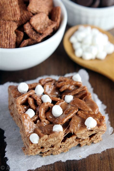 chocolate cereal treats s healthy baking