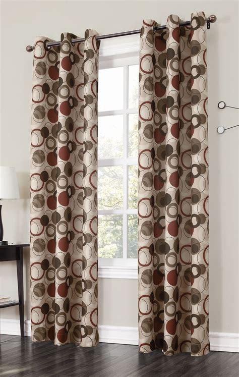 jupiter grommet curtains   large scaled multi