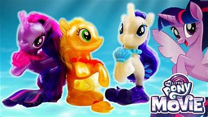 Pony Twilight Mermaid Sparkle Seapony Rarity Applejack