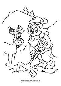 Deze kleurplaat is driehonderdachtenvijftig keer bekeken. Kerstman Arreslee Kleurplaat / Kleuren.nu - Verlanglijstje ...