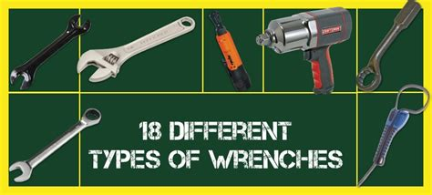 18 Different Types Of Wrenches And Their Uses With Images