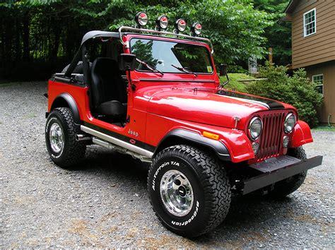 jeep accessories cj7 parts
