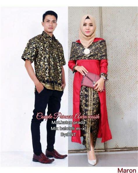 jual batik couple sarimbit seragam pesta hijab baju gamis
