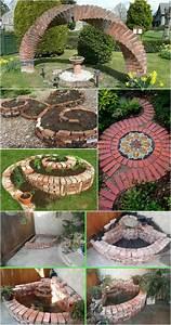 Gartenweg Anlegen Günstig : 42 kreative upcycling ideen wie man den eigenen gartenweg anlegen kann gartengestaltung ~ Markanthonyermac.com Haus und Dekorationen