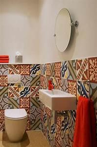 Carreaux De Ciment Salle De Bain : comment adopter le carrelage patchwork son int rieur ~ Melissatoandfro.com Idées de Décoration
