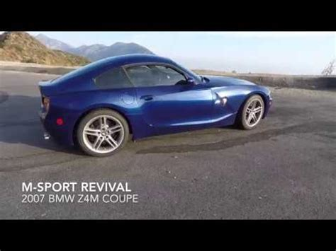 2007 Bmw Z4m Coupe Review And Quick Drive Youtube