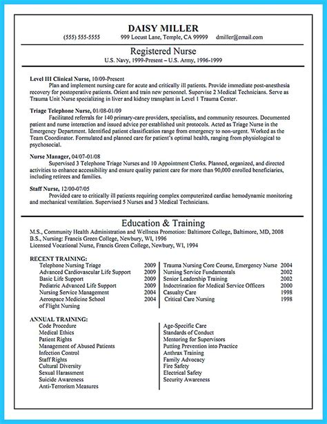 exle of rn resume high quality critical care resume sles