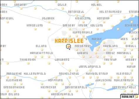 Harrislee (Germany) map - nona.net