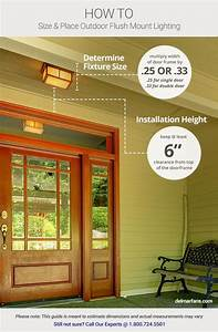 outdoor lighting ideas tips add curb appeal with front With exterior garage lighting placement