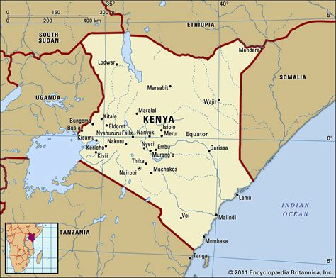 map  kenya travelsmapscom