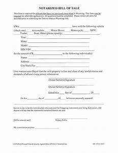 florida motorcycle bill of sale notarized boat bill of sale form wyoming free download