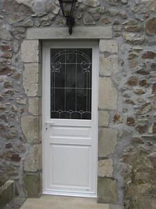 menuiserie presquile decor fenetres volets portes With porte de garage enroulable avec porte fermière pvc