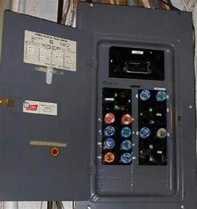 Fuse Box Or Circuit Breaker