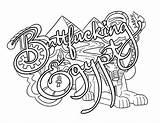 Buttfucking Swear Malebøger sketch template