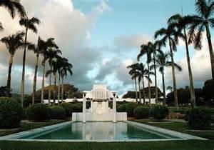Mormon Temple Oahu Hawaii