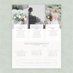 Delicate wedding 85x11 pricing guide oh snap boutique for Wedding pricing guide