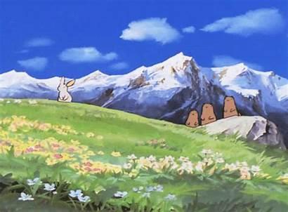 Heidi Alps Gifs Animation Mountain Pubblichiamo Nada