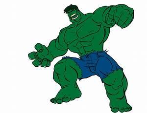Csrtoon Hulk - ClipArt Best