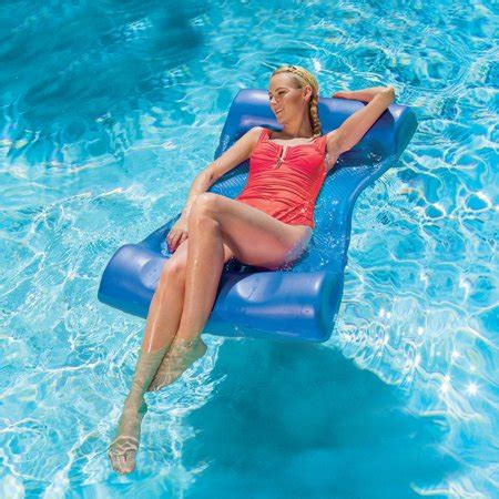 Water Hammock Pool Lounger by 46 Quot Bright Blue Aquaria Aqua Hammock Swimming Pool Water
