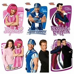 "From Lazytown the hosts ""Stephanie"", "" Sportacus"", ""Robbie ..."