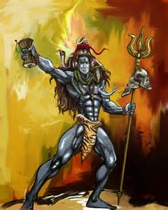 Modern Lord Shiva Paintings