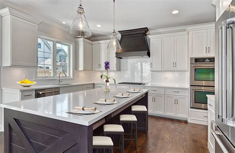 shaker style kitchen with kitchen transitional and