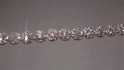 Animated Diamond Diamonds Sparkling Gifs Gems Silver