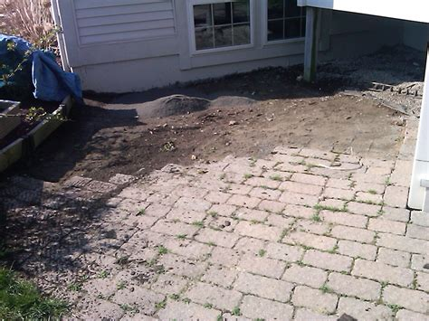 how to lay patio pavers on dirt insured by