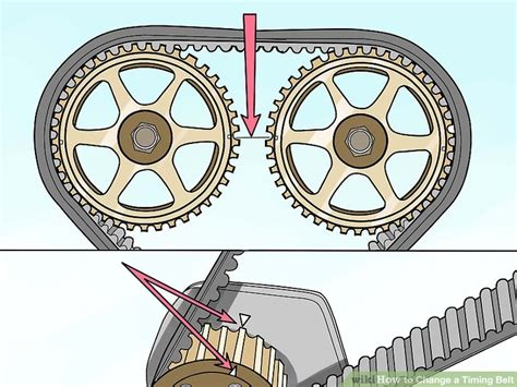 mesin las belt how to change a timing belt with pictures wikihow