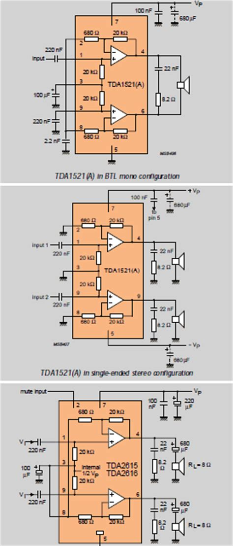 tda series audio amplifier book electronics projects