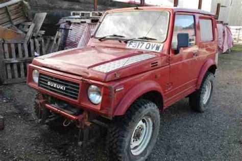how to fix cars 1989 suzuki sj regenerative braking suzuki samurai great used cars portal for sale